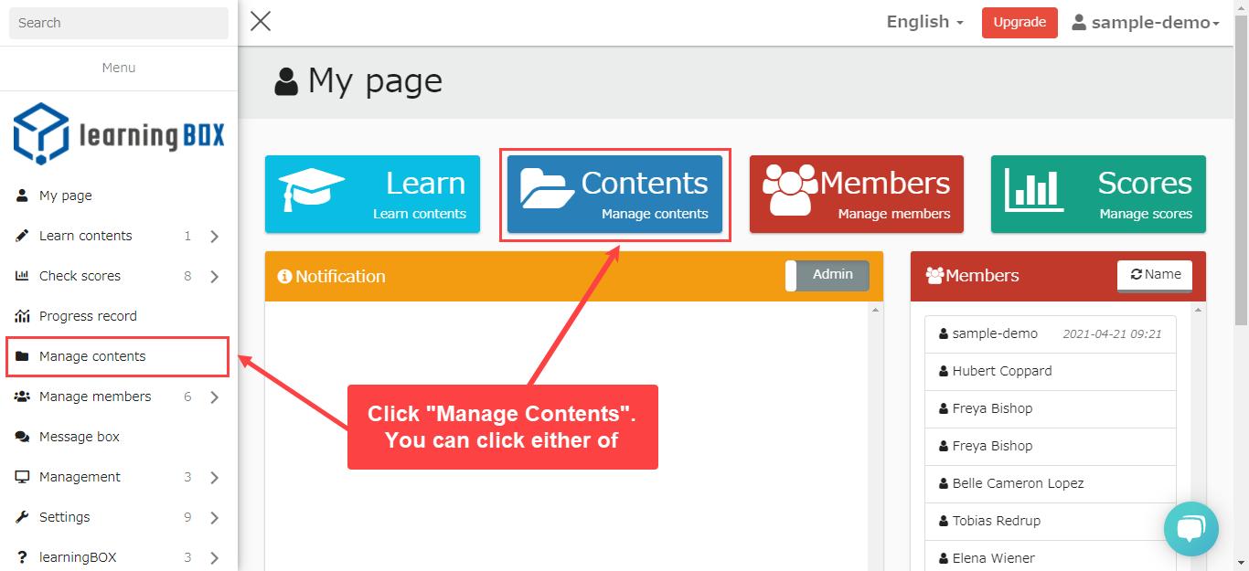 learningBOX-PDF teaching materials