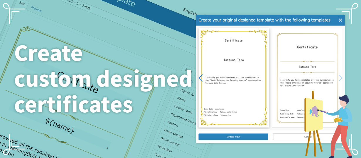 Online Learning - Certificates