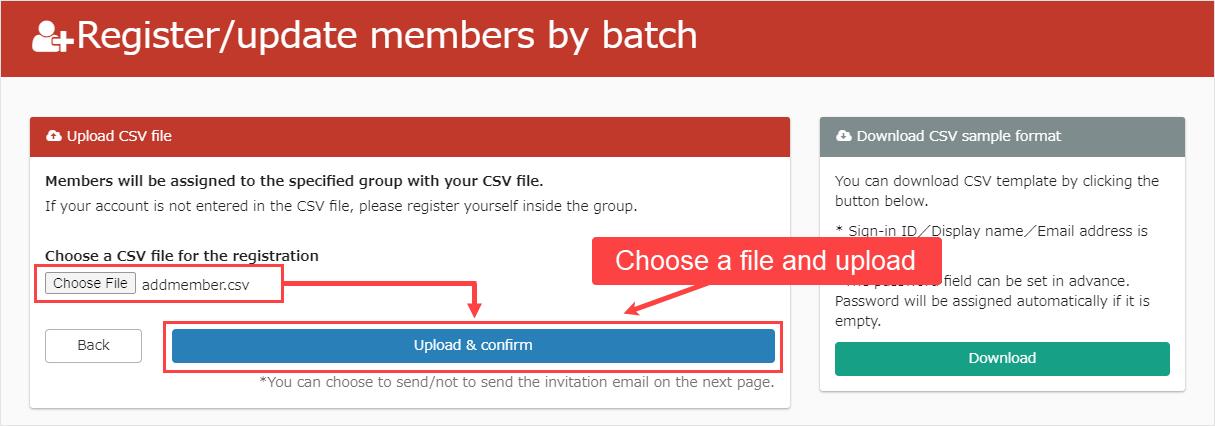 E-learning - Register as a member - learningBOX