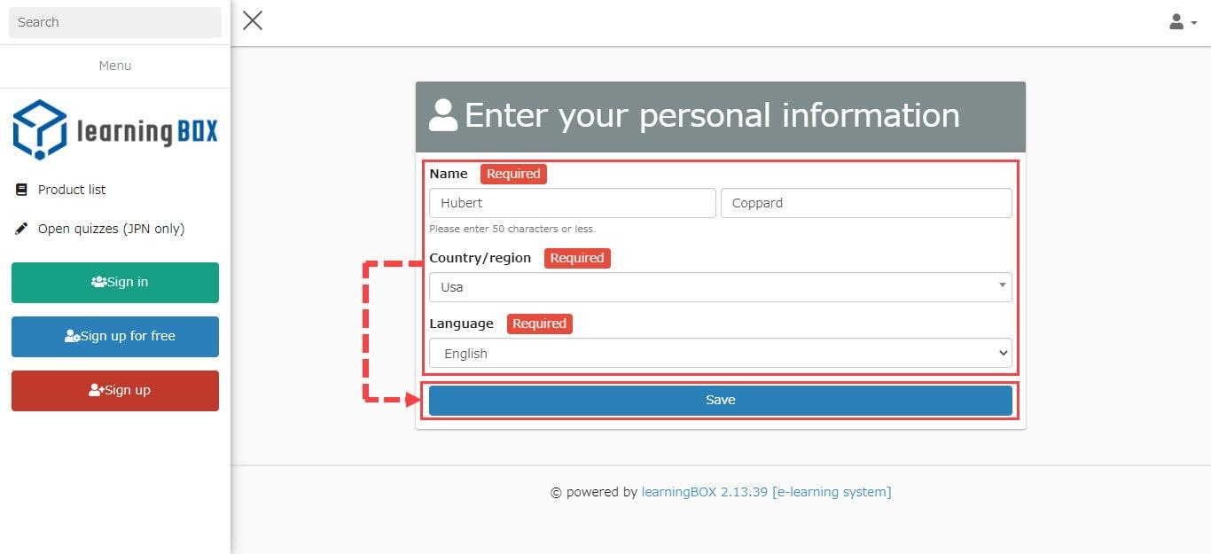 GDPR-compliant login