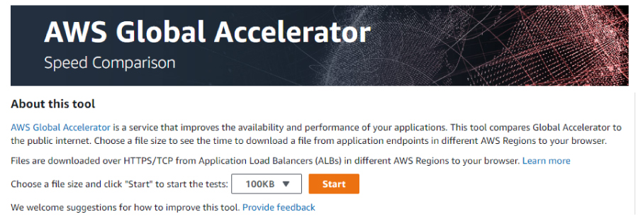 learningBOX AWS Global Accelerator