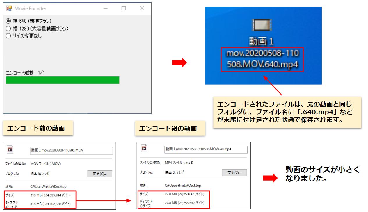 動画ファイルを小さくする方法