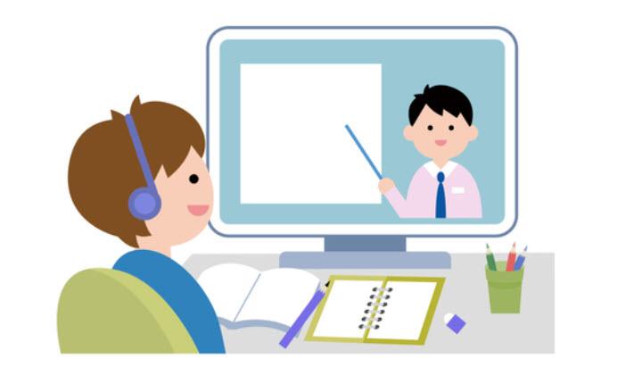 オンライン授業-コロナウイルス